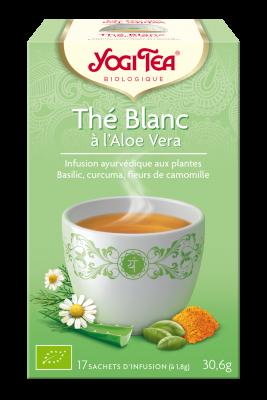 yogitea au thé blanc à l'aloe vera nouveauté