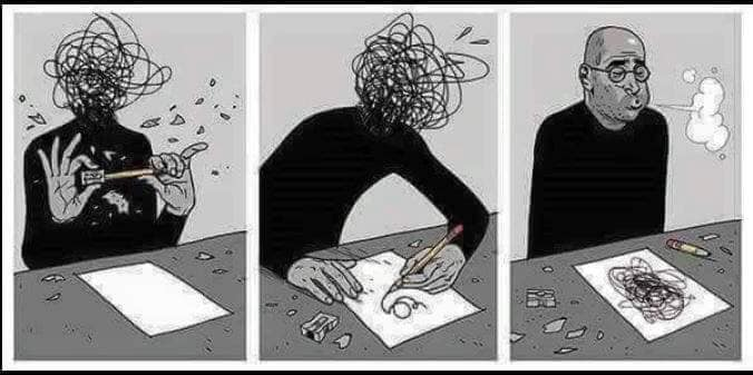 le dessin comme catharsis
