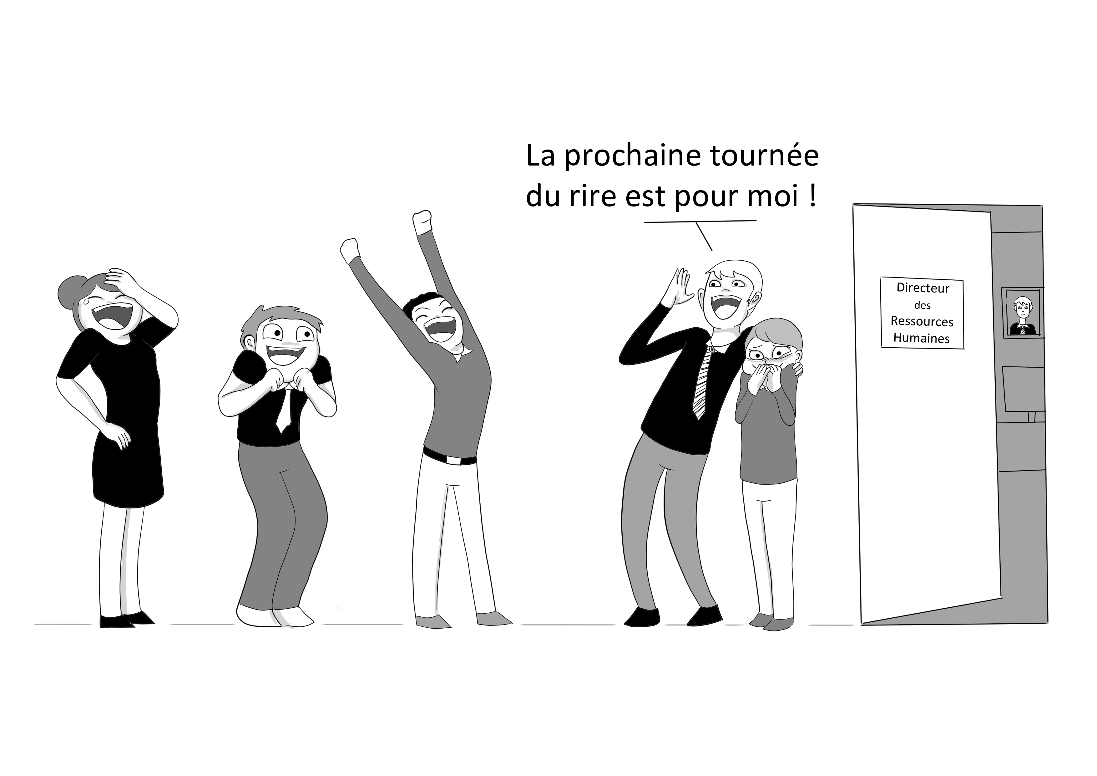 illustration le Bar du rire de Tiphaine