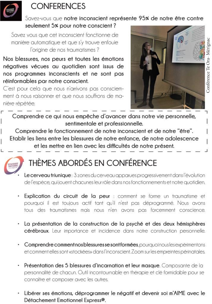 themes abordés en conférence
